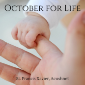 Pro-Life October at SFX Parish